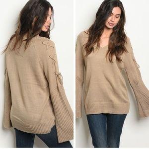 💙 Bell Sleeve Sweater